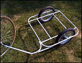 homemade bicycle trailer
