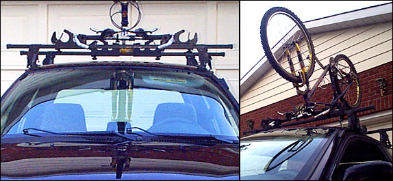 Blackfly rack details